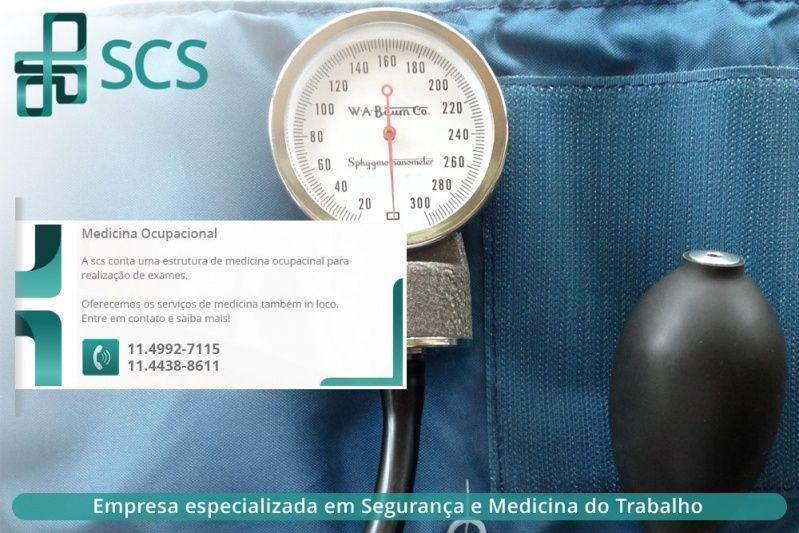 Clinica medica para exame admissional