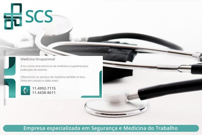 Medicina do Trabalho para Empresas Preço Embu - Clínica de Medicina do Trabalho