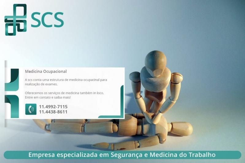 Onde Encontrar Medicina do Trabalho para Empresas Santo André - Empresa de Medicina do Trabalho em São Paulo