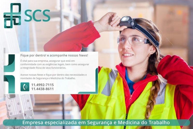 Quanto Custa Ltcat Segurança do Trabalho Santo André - Ltcat em São Paulo