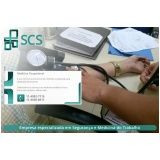 exame clínico admissional preço Paulínia