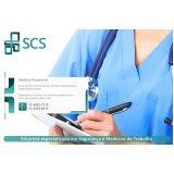 quanto custa exame médico admissional Santos
